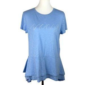 DKNY Ruffle T-shirt